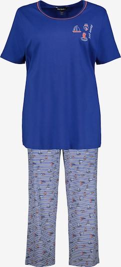Ulla Popken Pyjama in de kleur Blauw, Productweergave