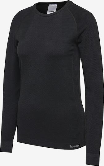 Hummel T-shirt L/S in schwarz, Produktansicht