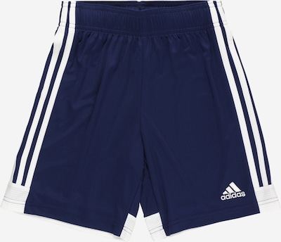 ADIDAS PERFORMANCE Pantalon de sport 'TASTIGO19' en bleu foncé / blanc, Vue avec produit