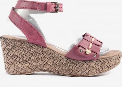 Linea Tesini Plateau-Sandaletten in 39 in pink, Produktansicht