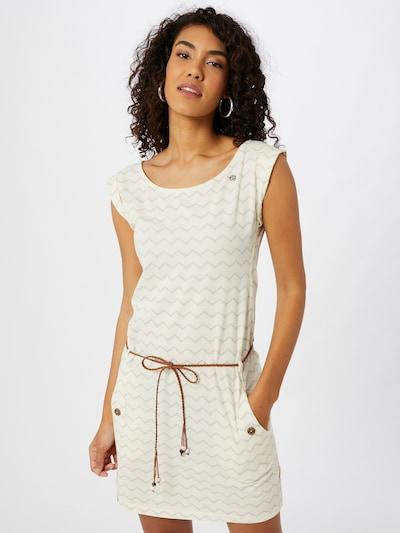 Ragwear Kleid in beige / weiß, Modelansicht