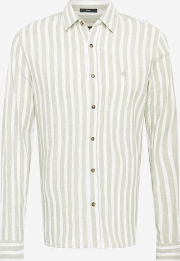 Mavi Hemd in khaki / weiß, Produktansicht