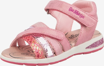 Be Mega Sandale in gelb / pink / rosa / altrosa, Produktansicht