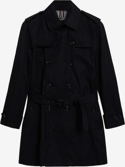 MANGO MAN Mantel in schwarz, Produktansicht