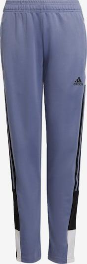 ADIDAS PERFORMANCE Trainingshose 'Tiro' in lila / schwarz / weiß, Produktansicht