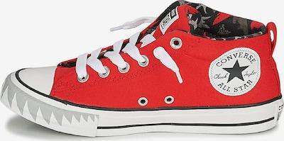 CONVERSE Sneaker ' CHUCK TAYLOR ALL STAR ' in dunkelgrau / rot / weiß, Produktansicht