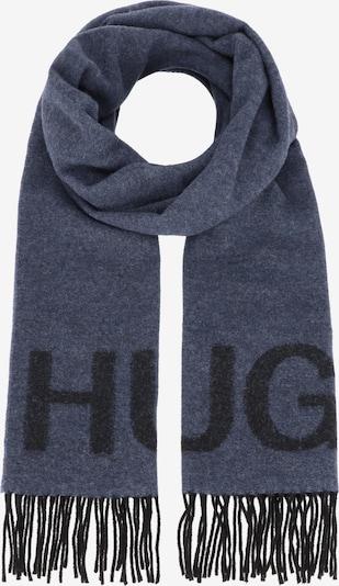 HUGO Schal 'Z-471' in dunkelblau / schwarz, Produktansicht