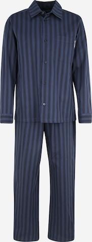 Marc O'Polo Pyjamas lång i blå