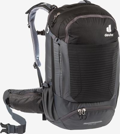 DEUTER Fahrradrucksack 'Trans Alpine Pro 28' in schwarz / weiß, Produktansicht