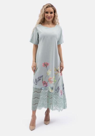 Wisell Sommerkleid in grau, Modelansicht