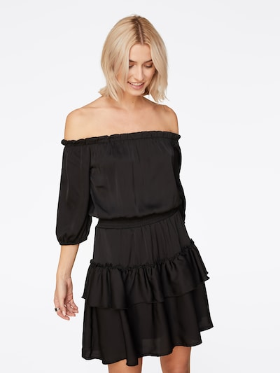LeGer by Lena Gercke Robe de cocktail 'Malin Dress' en noir, Vue avec modèle