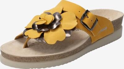 MEPHISTO Zehentrenner 'Helen Flower' in gelb / senf, Produktansicht