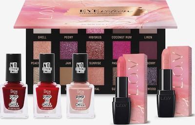 L.O.V L.O.V Make-up Set in pink / rot, Produktansicht