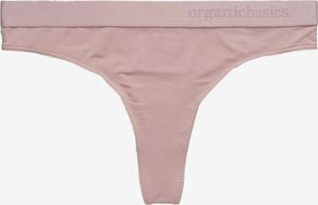 Organic Basics String 'Lite Tanga' in Pink