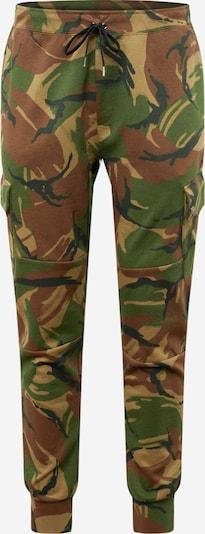 Polo Ralph Lauren Sporthose in braun / grün / oliv / dunkelgrün, Produktansicht