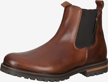PANTOFOLA D'ORO Chelsea Boots in Braun