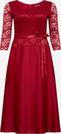 SWING Curve Robe de cocktail en rouge cerise, Vue avec produit