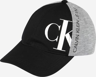 Calvin Klein Jeans Čepice - šedý melír / černá / bílá, Produkt