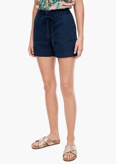 Q/S designed by Shorts 'Abby' in kobaltblau, Modelansicht