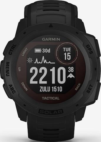 GARMIN Sports Watch 'Instinct Solar' in Black