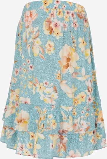 MAMALICIOUS Skirt 'MLVaiana' in Light blue / Light yellow / Orange / White, Item view