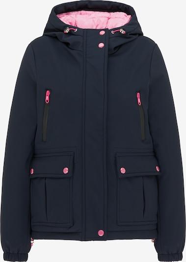 MYMO Veste d'hiver en marine / rose, Vue avec produit