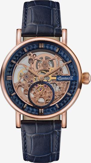 INGERSOLL Uhr 'The Herald' in navy / rosegold, Produktansicht