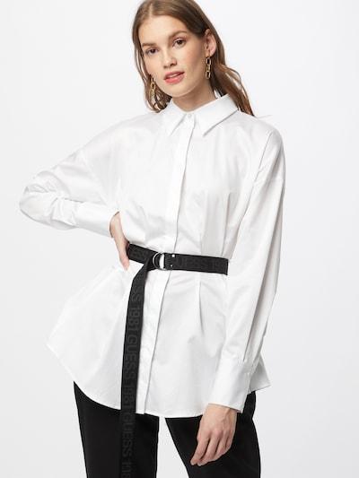 GUESS Bluse 'RHIANNA' in schwarz / weiß, Modelansicht