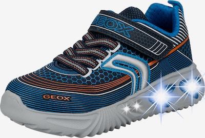 GEOX Schuh in dunkelorange / weiß, Produktansicht