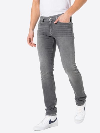 ARMANI EXCHANGE Jeans in grey denim, Modelansicht