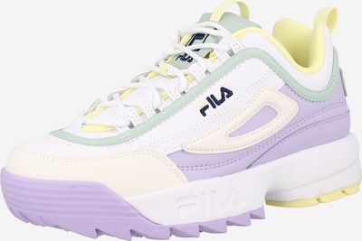 FILA Sneaker 'Disruptor' in navy / hellgelb / mint / helllila / weiß, Produktansicht