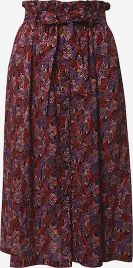 FRNCH PARIS Rok in de kleur Lila / Lichtroze / Rood / Zwart, Productweergave