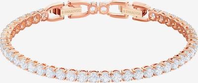 Swarovski Bracelet 'Tennis' in Rose gold / Transparent, Item view