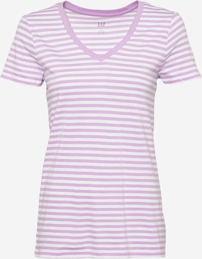 GAP Shirt in de kleur Mauve / Wit, Productweergave