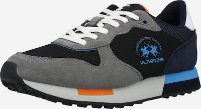La Martina Sneaker in marine / grau / schwarz / weiß, Produktansicht