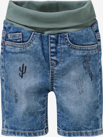 s.Oliver Jeans in de kleur Donkerblauw / Kaki, Productweergave