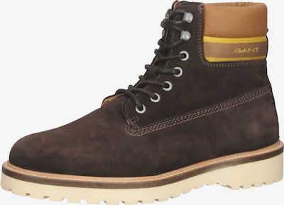 GANT Lace-Up Boots in Light brown / Dark brown, Item view