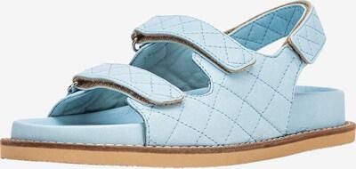 INUOVO Sandales à lanières en bleu ciel, Vue avec produit