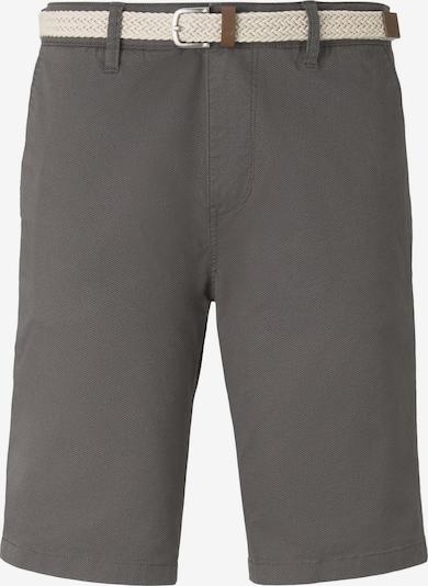 Pantaloni eleganți TOM TAILOR DENIM pe gri, Vizualizare produs