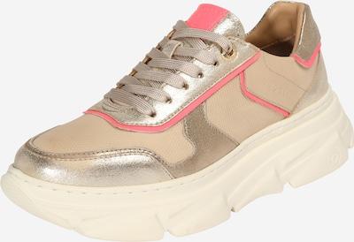 bugatti Sneakers laag 'Nava' in de kleur Beige / Goud / Pink, Productweergave