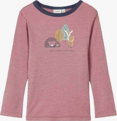 NAME IT Shirt in braun / mint / pink / weiß, Produktansicht