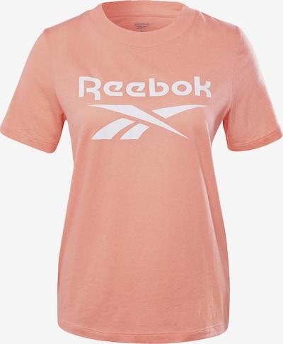 rózsaszín / fehér Reebok Classics Póló, Termék nézet
