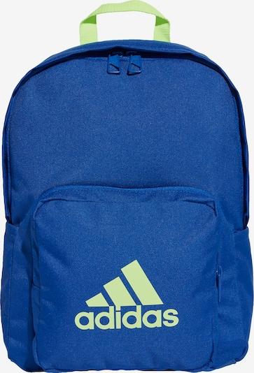 ADIDAS PERFORMANCE Rucksack 'Classic' in blau / gelb, Produktansicht