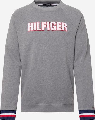 Tommy Hilfiger Underwear Суичър в нейви синьо / сиво / червено / бяло, Преглед на продукта