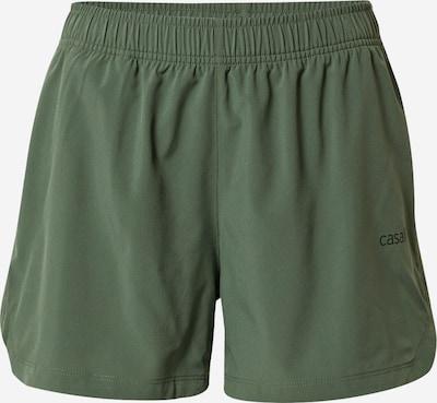 Casall Pantalon de sport en vert, Vue avec produit
