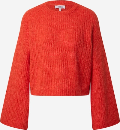 EDITED Pullover 'Louise' in rot, Produktansicht