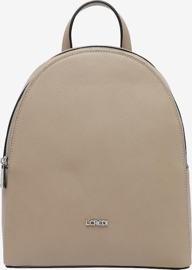 L.CREDI Cityrucksack 'FILIPPA' in beige, Produktansicht