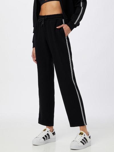 ONLY PLAY Sportovní kalhoty 'MAXIE' - černá / bílá, Model/ka