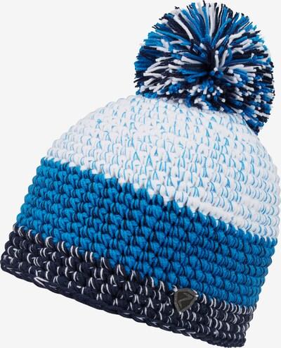 ZIENER Strickmütze 'INTERCONTINENTAL' in blau / weiß, Produktansicht
