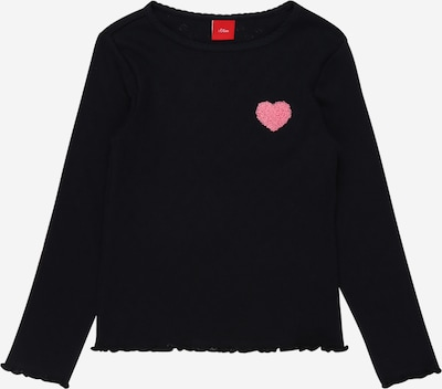s.Oliver Shirt in nachtblau / hellpink, Produktansicht